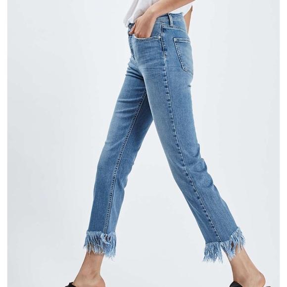 Topshop Denim - Topshop Fringe jeans